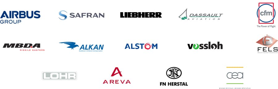 logos clients forgeavia